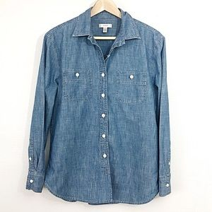 🆕 Listing!  J. Crew | Chambray Button Up
